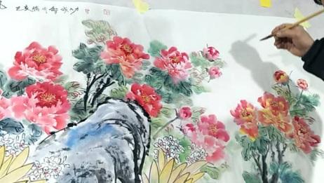 大叔画的这幅画太好看了,你们喜欢吗?