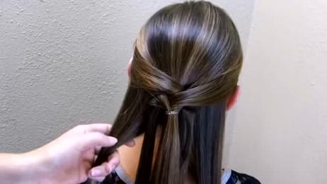 简单漂亮秋季马尾辫新扎发,女神都这样扎!
