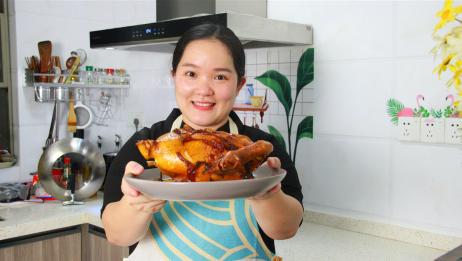 广东顺德四杯鸡经典做法,只需4种配料,25分钟出锅,香到骨子里