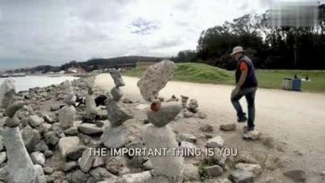 「EverydayGoPro」摞石头的除了小孩还有艺术家