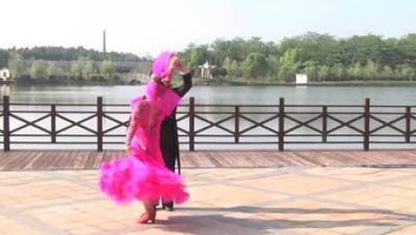 高安市体育舞蹈协会交谊舞 夜色 表演 第一版