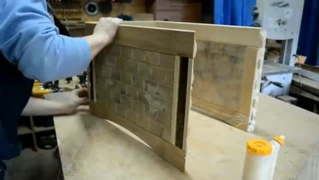国外木工大师制作橡木箱子,手工制作全过程!